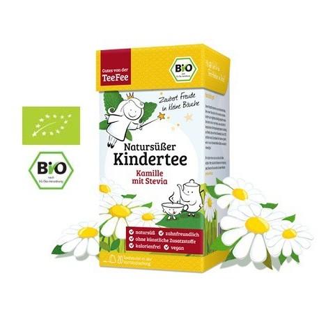 "TeeFee herbatka BIO PREMIUM dla dzieci - ""Rumianek ze Stewia"""