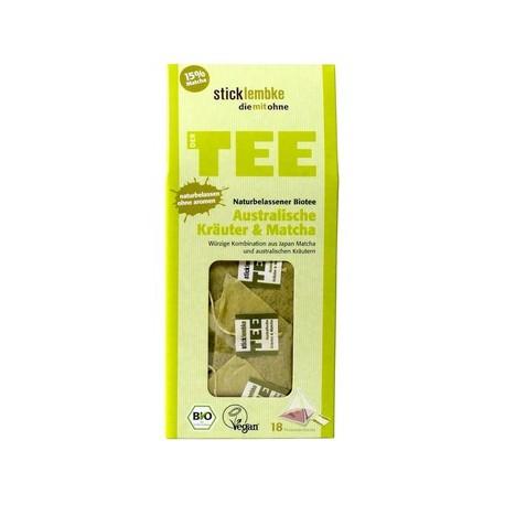 japońska BIO MATCHA + Australijskie Zioła ORGANIC - herbata ekspresowa