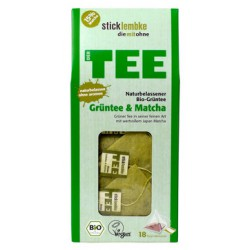 Japońska BIO MATCHA + Zielona Herbata ORGANIC - herbata ekspresowa
