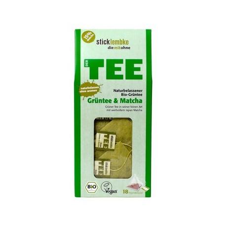 Japońska BIO MATCHA + Zielona herbata ORGANIC - herbata ekspresowa Super Matcha cena