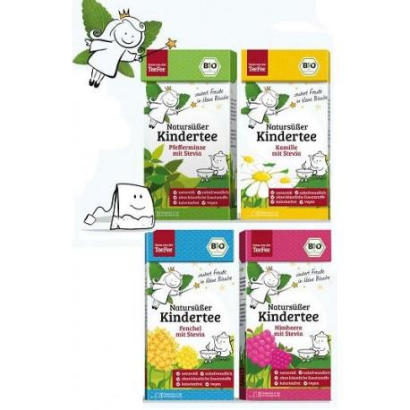 Zestaw TeeFee herbatki BIO PREMIUM dla dzieci ze Stewia