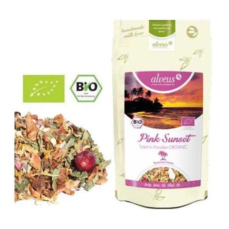 ALVEUS herbata Icetea Pink Sunset ekologiczna bio organic cena