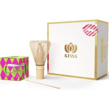 luksusowy zestaw herbaty Matcha KISSA Supermodels Secret japońska BIO moya cena sklep