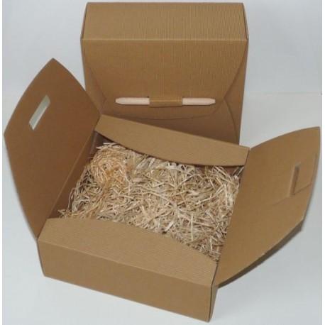 Pudełko prezentowe EKO z wypełnieniem ekologicznym