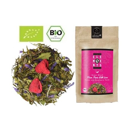 ALVEUS herbata Premium From Paris with Love zielona owocowa