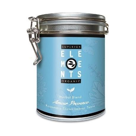 ALVEUS herbata ziolowa BIO Organic Amour Provence Miłosna Prowansja puszka sklep cena