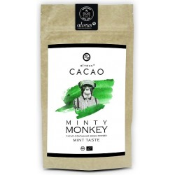 """ALVEUS Kakao BIO / Organic """"Minty Monkey"""" - 125g"""