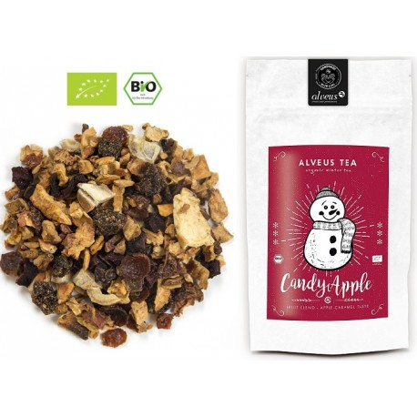ALVEUS herbata zimowa owocowa BIO Organic Candy Apple sklep cena