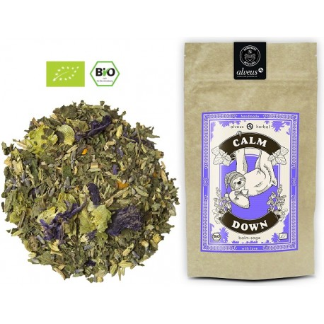 ALVEUS herbata ORGANIC BIO Herbal Calm Down Pogoda Ducha sklep cena