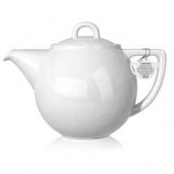 London Pottery - Dzbanek 1,1L - Geo Grid Teapot, biały