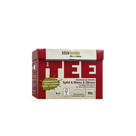 """Zestaw herbat Premium """"Jabłko & Mięta & Cytryna"""" - luksusowe BIO herbaty ekspresowe"""