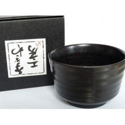 japońska Miseczka / Matchawan / Czarka do herbaty Matcha KURO, 200ml, czarna