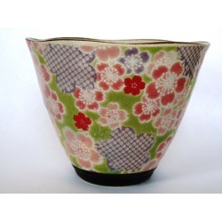Japońska czarka kubek do herbaty Yuzuki zielona 200ml