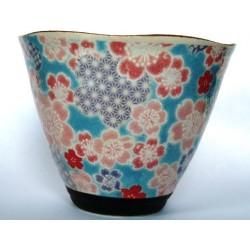 Japońska czarka kubek do herbaty Yuzuki niebieska 200ml