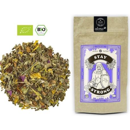 ALVEUS herbata ORGANIC BIO Herbal Stay Strong Przypływ Mocy sklep cena