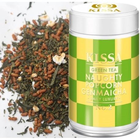 Herbata Kissa Naughty Popcorn Genmaicha - japońska Genmaicha BIO ORGANIC zielona sklep cena
