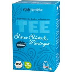 Herbata Klitoria Moringa cynamon anyż koper włoski jeżyna bio ORGANIC cena sklep