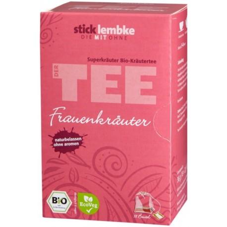Herbata Zioła dla Kobiet rumianek krwawnik werbena chmiel bio ORGANIC cena sklep