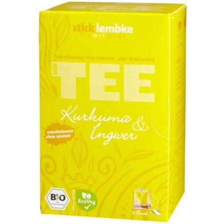 Herbata ekspresowa Kurkuma i Imbir cynamon mieta trawa cytrynowa skórka pomaranczy bio ORGANIC cena sklep