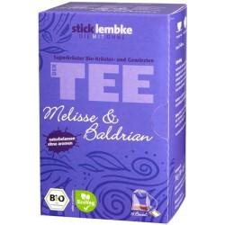 "Ekspresowa herbata ziołowa ""Melisa i Waleriana"""