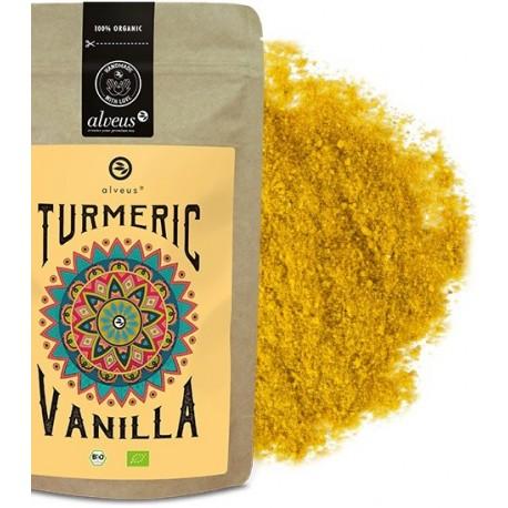 ALVEUS Turmeric Kurkuma Vanilla sproszkowany imbir wanilia bio organic cena sklep
