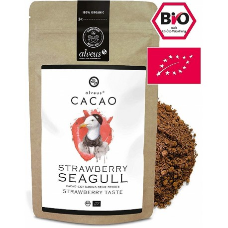 ALVEUS organiczne Kakao BIO ekologiczne z Matcha Strawberry Seagull sklep cena