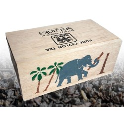 Herbata czarna Ceylon BOP Elephant Sri Lanka skrzynka skrzyneczka sklep cena