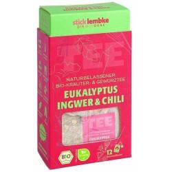 herbata ekspresowa BIO Eukaliptus, Imbir & Chili