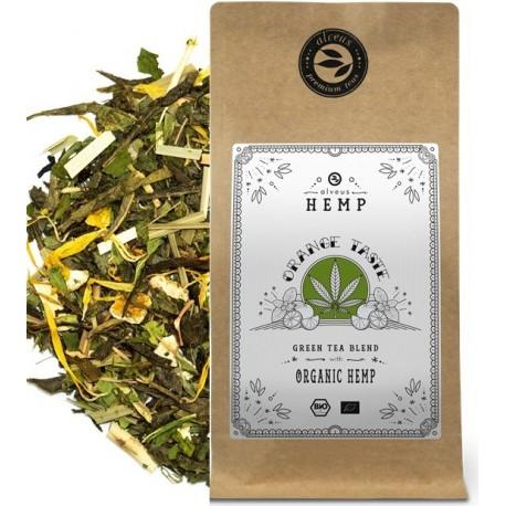 ALVEUS herbata konopna Hemp Tea Orange liście konopii sklep cena