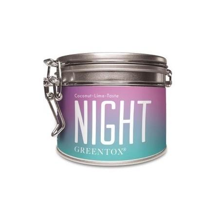 ALVEUS herbata BIO – ORGANIC Night GreenTox puszka dobra noc sklep cena