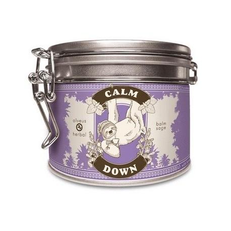 ALVEUS herbata ORGANIC BIO Herbal Calm Down Pogoda Ducha puszka sklep cena